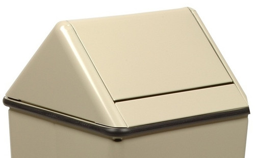 13 x 13 Metal Painted Swing Top LID ONLY for 1311HT/13H Almond