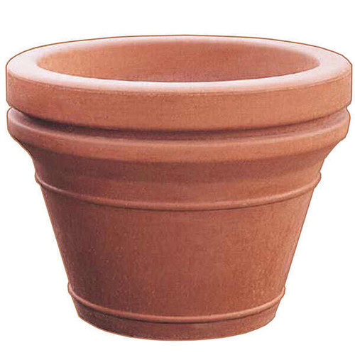 30 x 29 Decorative Terrene Outdoor Round Concrete Planter TF4042