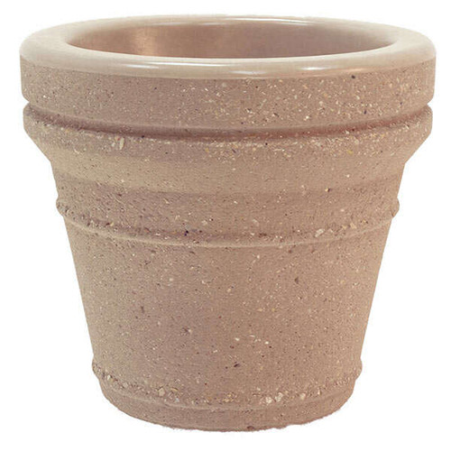 20 x 18 Decorative Terrene Outdoor Round Concrete Planter TF4043