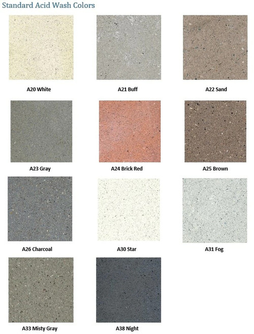 Acid Wash Colors