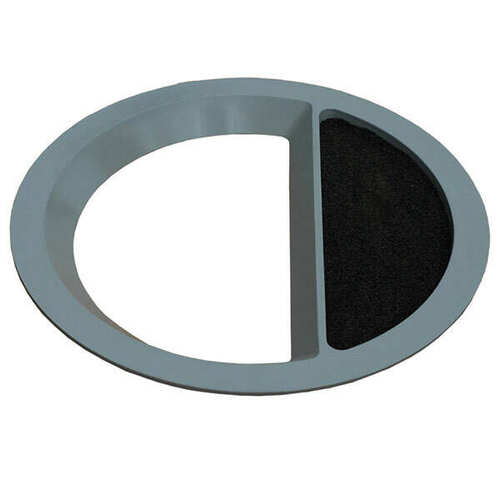 22 Inch Round Funnel Top Ash Trash Lid TF1508 for Concrete Garbage Cans