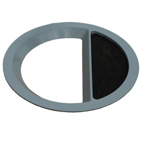 13.5 Inch Round Funnel Top Ash Trash Lid TF1509 for Concrete Garbage Cans