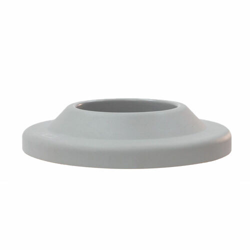 26.625 Inch Plastic Pitch In Lid TF1460 for TF Round Trash Cans (Gray)
