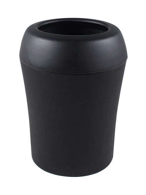35 Gallon Infinite Select Plastic Indoor Outdoor Trash Can Black 101669