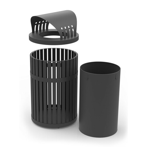 Receptacle, Lid, and Liner