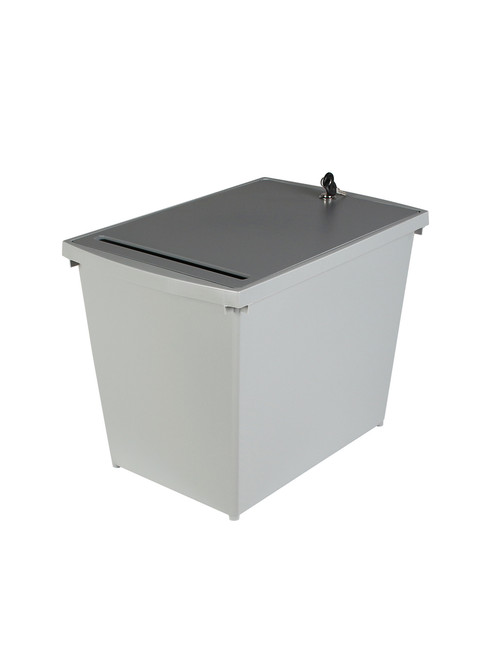 Personal Locking Under Desk Secure Document Container