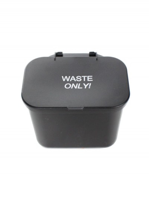 Plastic Desk or Wall Mountable Hanging Wastebasket Caddy BC1500 (4 Colors, 2 Pack)