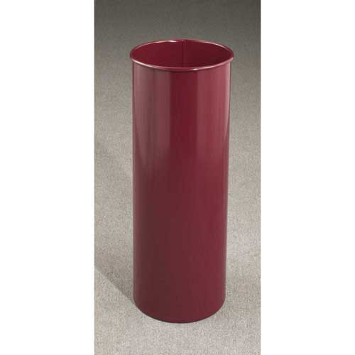 7 Gallon 9 x 23 Open Top Home Office Wastebasket Burgundy