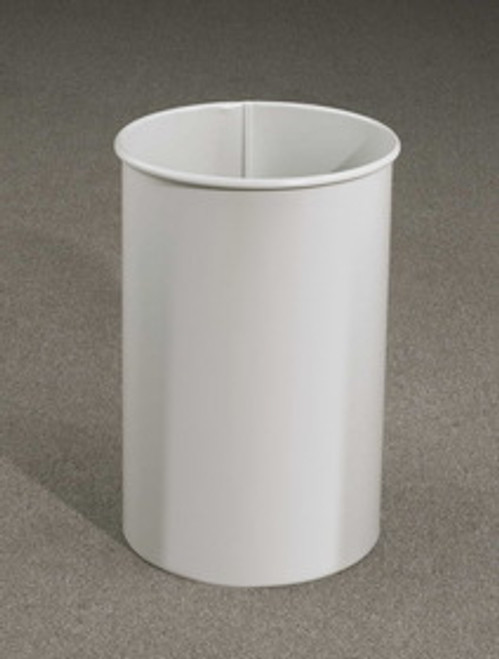 11 Gallon 12 x 23 Open Top Office Wastebasket 29 Designer Colors