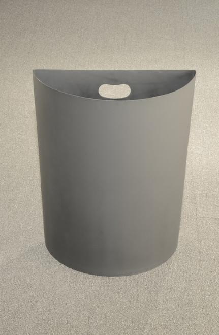 24 Gallon Half Round Plastic Liner PLC24 for Half Round Trash Cans
