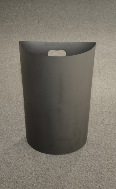 14 Gallon Half Round Plastic Liner PLC18 for Half Round Trash Cans
