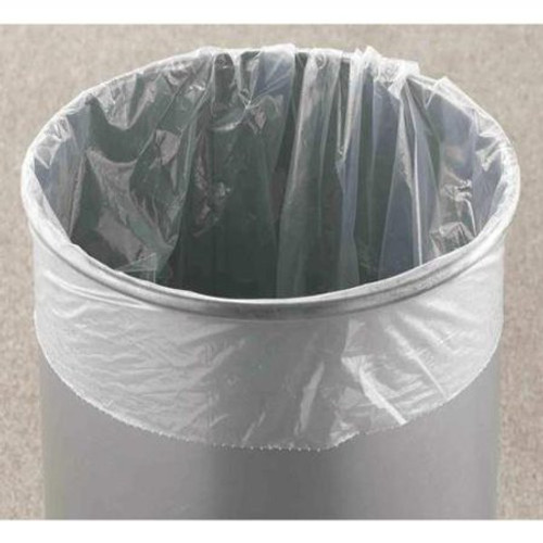 Glaro Clear Trash Can Liner Bags Single