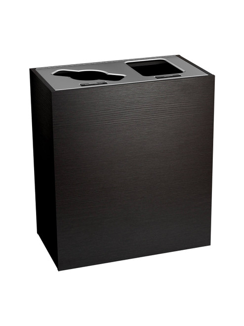 2 Stream 43 Gallon Aristata Tier 4 Recycling Bin 90935 Western Breeze Mixed and Waste