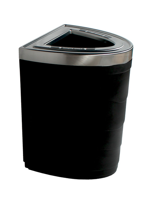 36 Gallon Evolve Series Ellipse Trash Can
