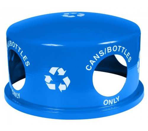 18 Inch Lid RC-34R REPL DM RBL for 34 Gallon Landscape Recycling Bins