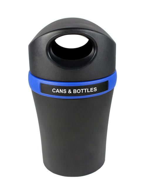 Cans & Bottles-Black/Blue
