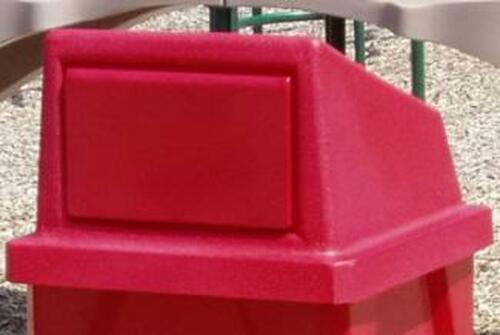 Trash Can Lids for Square Kolor Can