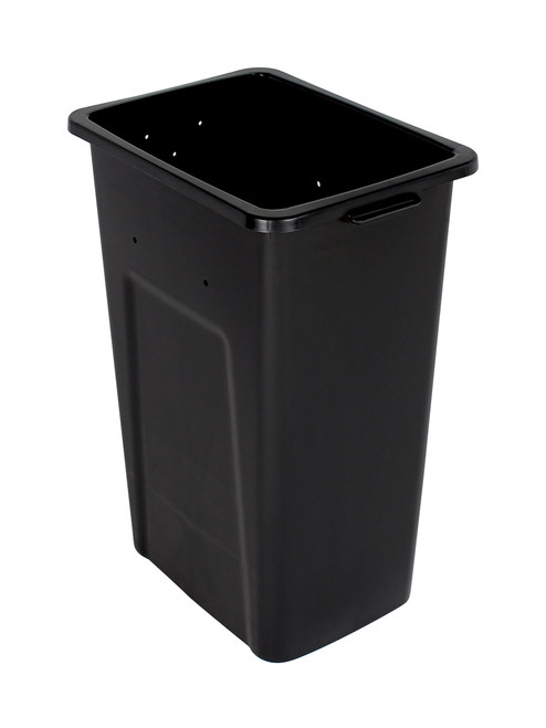 32 Gallon Extra Large Home & Office Trash Can Black