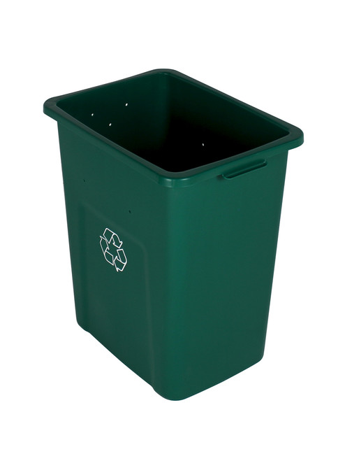 24 Gallon Extra Large Home & Office Recycling Bin Green