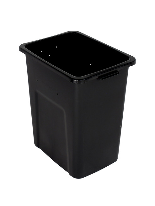 24 Gallon Extra Large Home & Office Trash Can Black