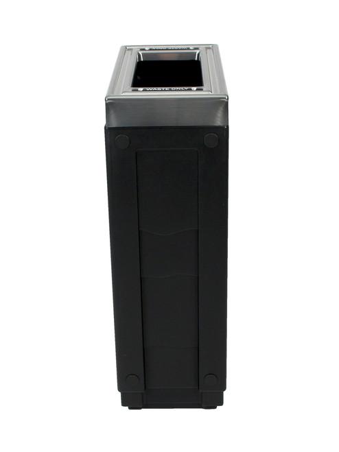 23 Gallon Evolve Cube Slim Skinny Trash Can 101261