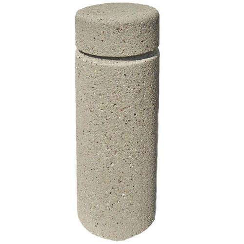 Concrete Bollard Safety Barrier 12 x 30 TF6010 Weatherstone Gray