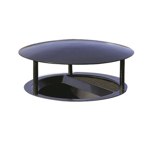 22 Inch Covered Funnel Top Ash Trash Lid for Wausau Tile Garbage Cans