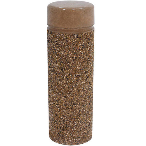 Concrete Bollard Safety Barrier 12 x 36 TF6020 Exposed Aggregate