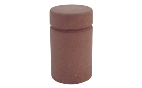 Concrete Bollard Safety Barrier 18 x 36 TF6016 Weatherstone Brown