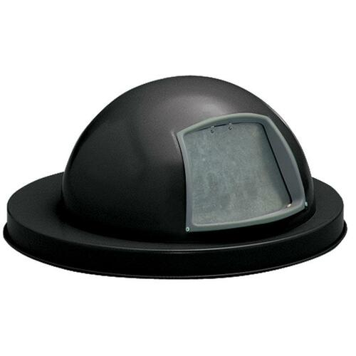 18.75 Inch Painted Metal Dome Lid M2401-DTL-BK