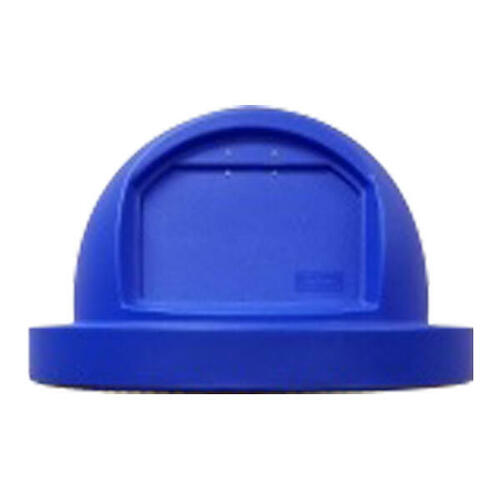 TF1489 Push Door Trash Can Lid for 55 Gallon Drums and MF3083 BLUE