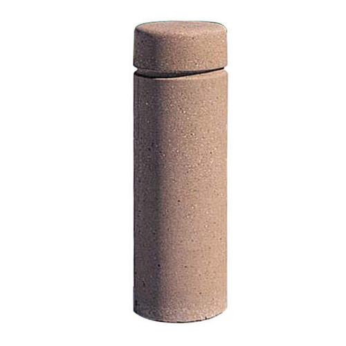 Concrete Bollard Safety Barrier 12 x 36 Weatherstone Sand TF6020QS