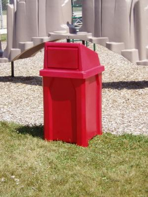 32 Gallon Kolor Can Indoor Outdoor Trash Can S7801A (7 Lid Options, 11 Colors)