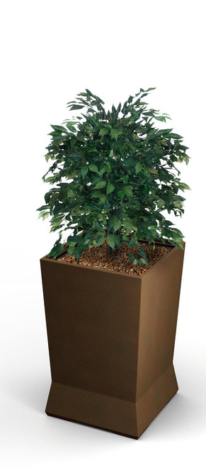 15 x 15 x 20 ModTec Planter Small 724265 Old Bronze