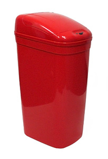 Touchless Automatic Medical Red Trash Can 9 Gallon