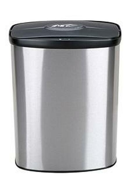 2 Gallon Touchless Bathroom Trash Can Stainless Steel DZT-8-1