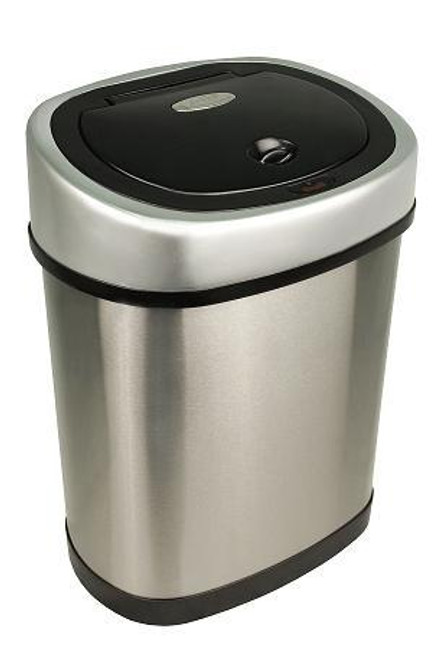 3 Gallon Touchless Automatic Bathroom Trash Can Stainless Steel DZT-12-9