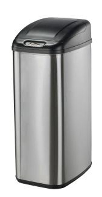 13 Gallon Touchless Automatic Kitchen Trash Can Stainless Steel DZT-50-6