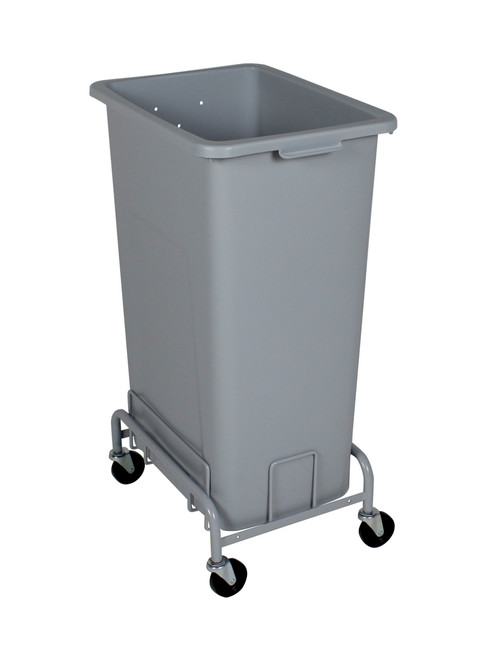 24 Gallon Plastic Extra Large Trash Can with Wheels (4 Color Choices)