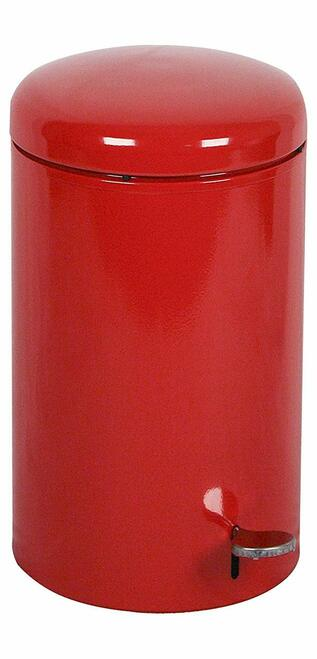 7 Gal. Red Metal Step Can OSHA Compliant Fire Safe Steel Liner 2270RD