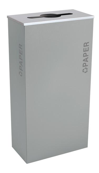 17 Gallon Kaleidoscope XL Black Tie Recycle Bin RC-KD17-P-BT-HMG (Gray, Paper)