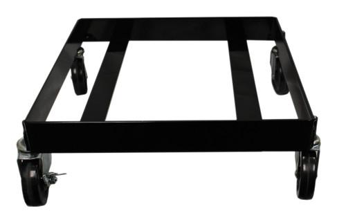 Square Geo Cube Wheeled Dolly w/Locking Caster Heavy Duty