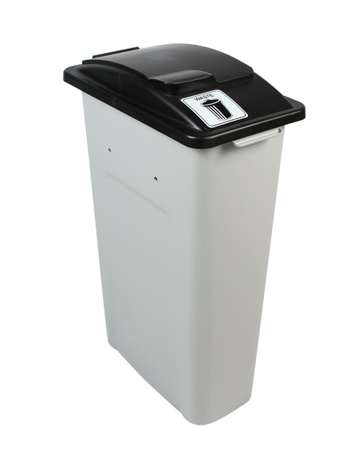 23 Gallon Skinny Simple Sort Waste Can (Waste, Lift Top)