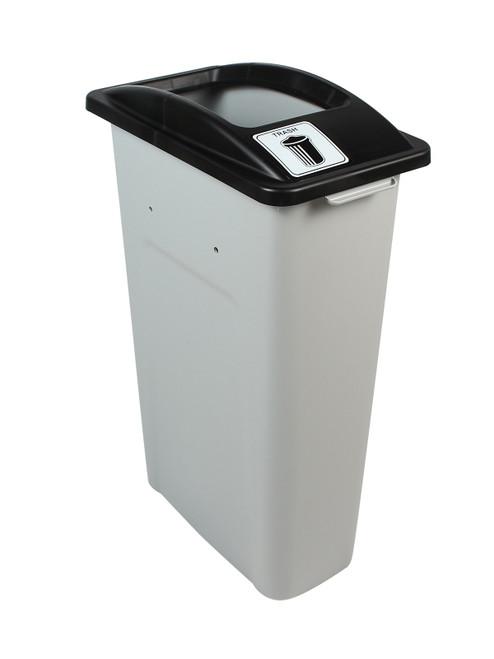 23 Gallon Skinny Simple Sort Trash Can (Trash, Open Top)
