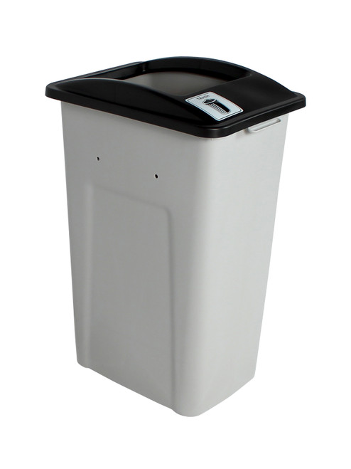 32 Gallon XL Simple Sort Trash Can (Trash, Open Top)
