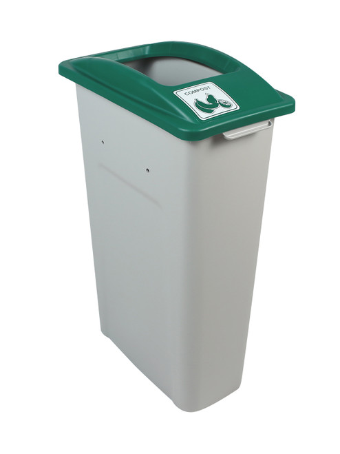 23 Gallon Skinny Simple Sort Compost Bin (Compost, Open Top)