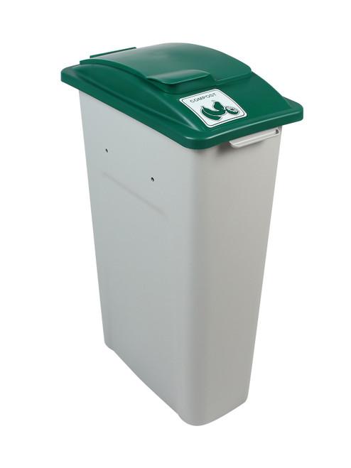 23 Gallon Skinny Simple Sort Compost Bin (Compost, Lift Top)