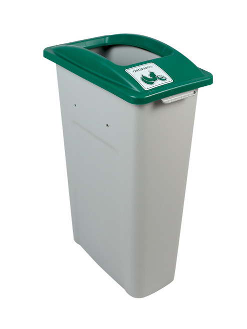 23 Gallon Skinny Simple Sort Compost Bin (Organics, Open Top)