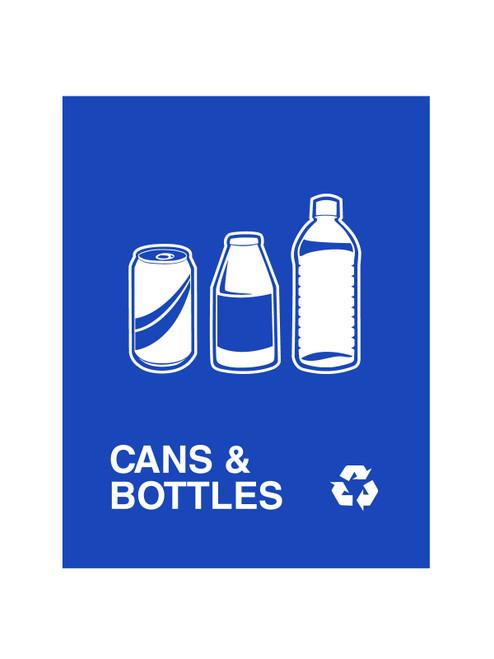 CANS & BOTTLES (BLUE)