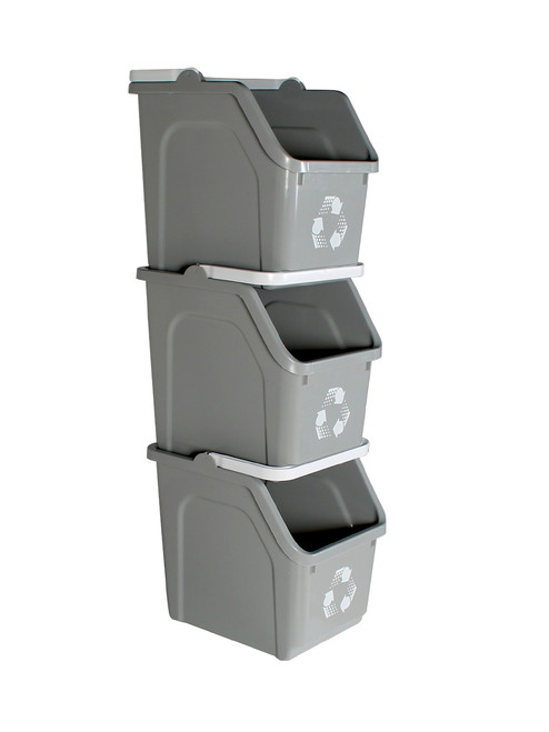 Stackable Multi Recycler 4 Pack (Gray)